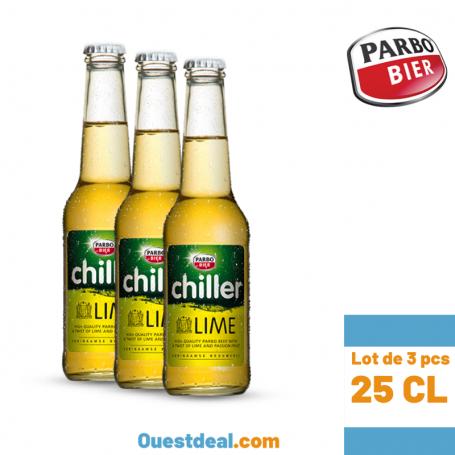 Chiller bière 25 cl lot de 3 bouteilles