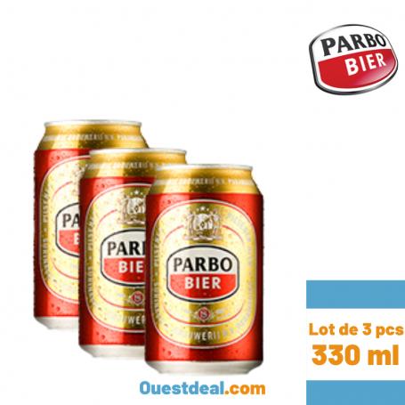 Lot de 3 Bière PARBO de 330 ml