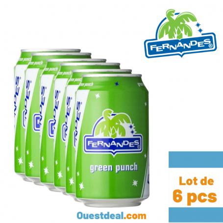 Fernandes  Green punch Lot de 6 pcs