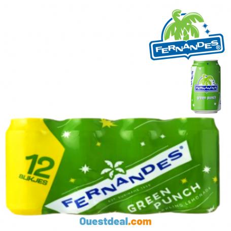 Fernandes  Green punch Lot de 12 pcs