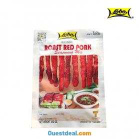 Lobo roast red pork
