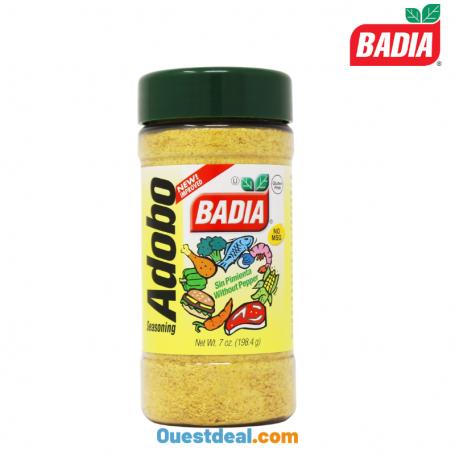 Badia Adopo épices sans poivre