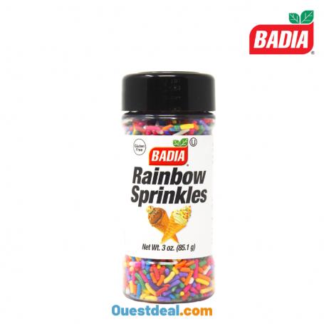 Rainbow Sprinkles BADIA