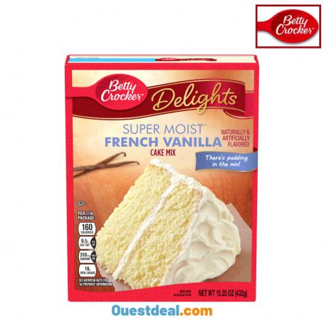 Cake mix super moist French vanilla