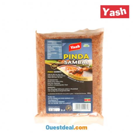 Pindasambal sauce d'arachide déshydraté 250 g
